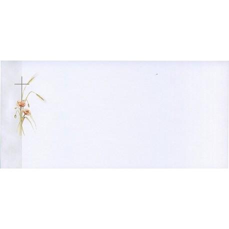 Carte de remerciement décés, deuil, funérailles, condoléances, obsèques BUROMAC 644.090