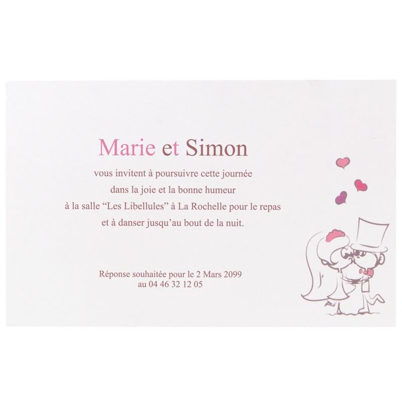 Texte Faire Part Mariage Marrant 101demariage