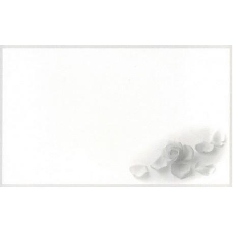 Carte de remerciement décés, deuil, funérailles, condoléances, obsèques DECORTE 6436