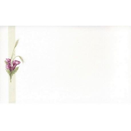 Carte de remerciement décés, deuil, funérailles, condoléances, obsèques DECORTE 6459
