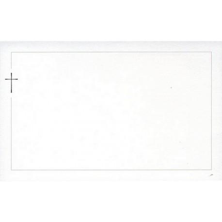 Carte de remerciement décés, deuil, funérailles, condoléances, obsèques BUROMAC 678.040