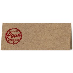 Marque Place marron cachet rouge - Belarto Love 726721