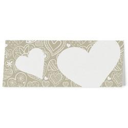 Marque Place crème bronze coeurs - Belarto Love 726735