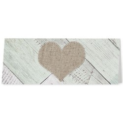 Marque Place nature vintage bois coeur - Belarto Love 726702