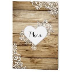 faire part mariage romantique chic bois fleurs dentelle belarto love 726003. Black Bedroom Furniture Sets. Home Design Ideas