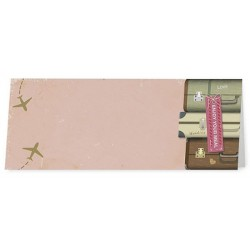 Marque Place original rose thème voyage - Belarto Romantic 726713