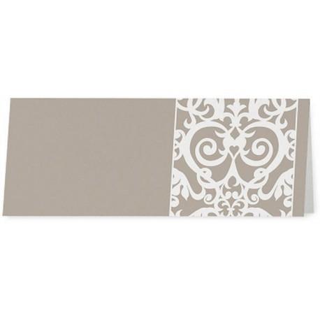 Marque Place vintage bronze arabesques crème en dentelle - Belarto Romantic 726747