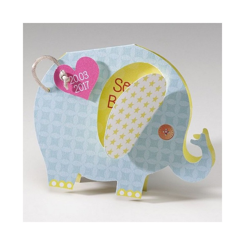 Fabuleux part naissance original forme elephant Belarto Happy Baby 715132 IT41