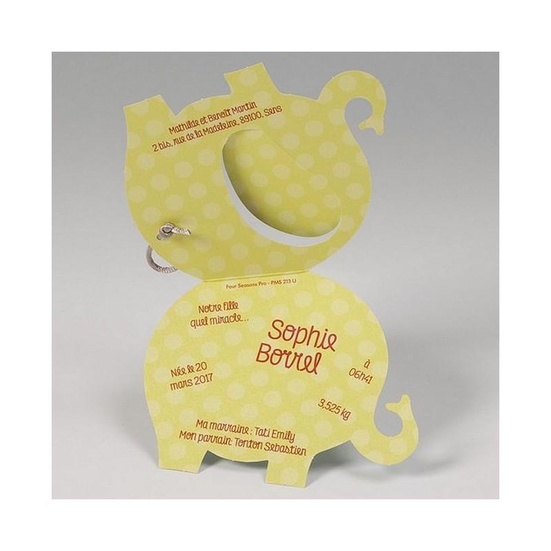 Super part naissance original forme elephant Belarto Happy Baby 715132 VE54