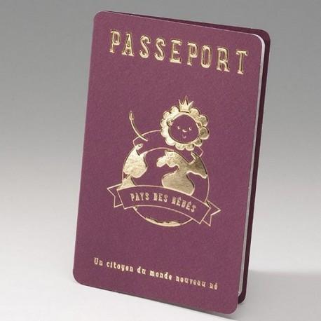 faire part naissance original passeport belarto happy baby 715119. Black Bedroom Furniture Sets. Home Design Ideas