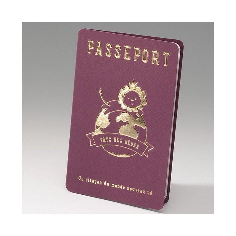 faire part naissance passeport