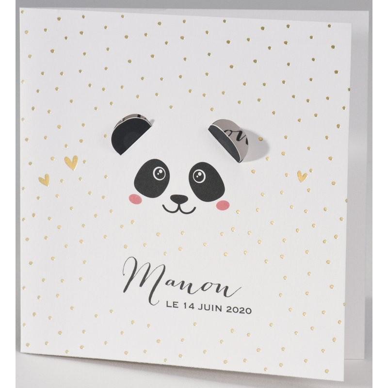 Bien-aimé part naissance chic pois dorés panda BUROMAC Pirouette 2017 507.009 QG68