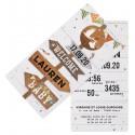 Faire-part naissance original pancartes voyage Belarto Welcome Wonder 717027