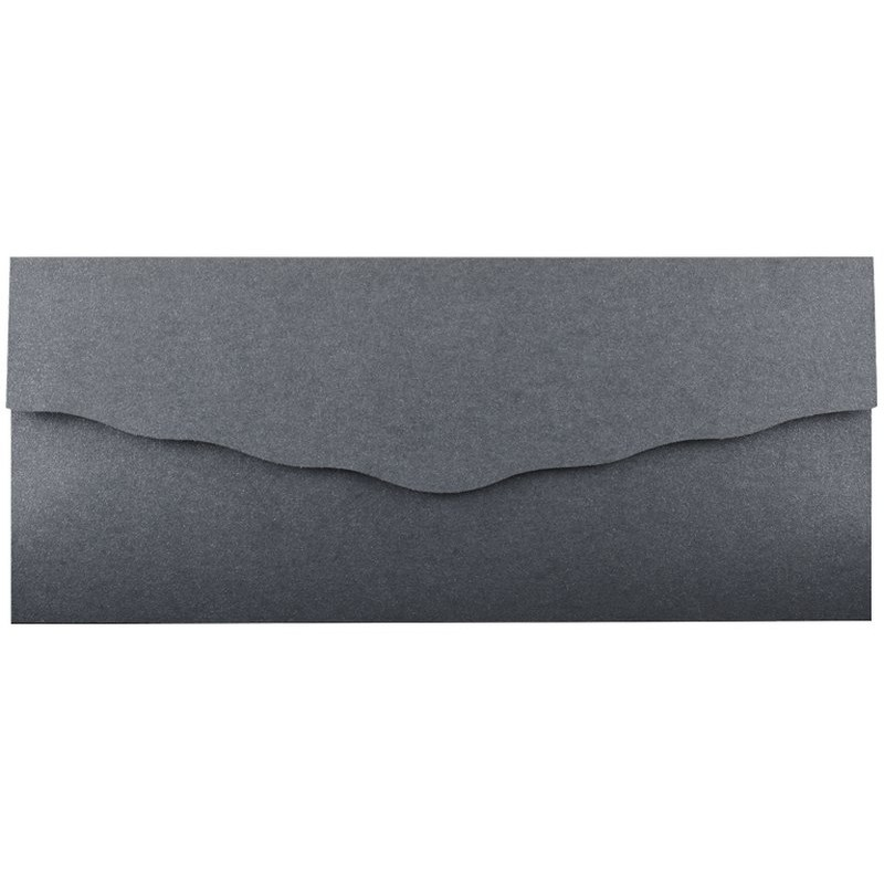 faire part mariage chic sobre pochette grise iris e regalb toi moi 2018 jm3483. Black Bedroom Furniture Sets. Home Design Ideas