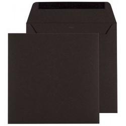 Enveloppe noire 170 x 170 Buromac Papillons 2018 90.115-p