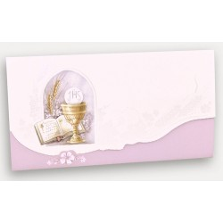 Carte invitation communion REGALB VE720