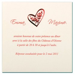 Carte lunch ou remerciements BUSQUET 32.442.14266