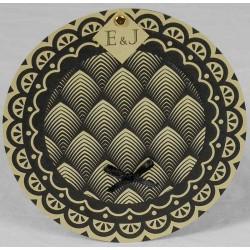 Faire part mariage original papier recyclé motifs géométriques Faire Part Select Romance 49632