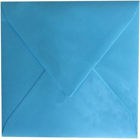 Enveloppe Bleu Cyan 150 x 150 Belarto 8118106