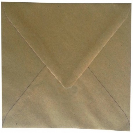 Enveloppe Marron Recyclée 150 x 150 Belarto 8228106