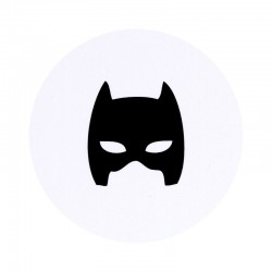 Timbre de Scellage masque superhéros Batman BUROMAC Baby Folly (2019) 579.117