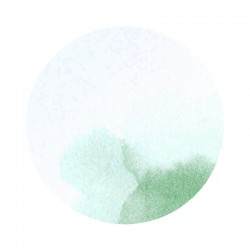 Timbre de Scellage aquarelle verte BUROMAC Baby Folly (2019) 579.105