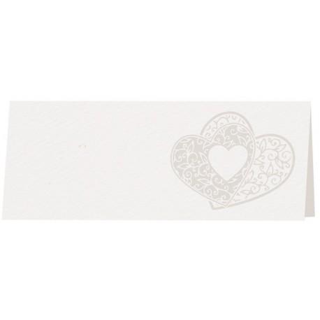 Marque place couleur crème coeurs arabesques BELARTO Celebrate Love 723799