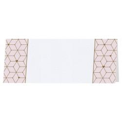 Marque Place moderne blanc rose motifs géométriques Belarto Celebrate Love 7297003