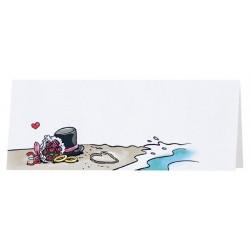 Marque Place humoristique mer chapeau bouquet alliances Belarto Celebrate Love 7297004