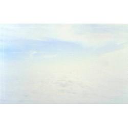 Carte de remerciement décés, deuil, funérailles, condoléances, obsèques ciel nuages DECORTE 6511