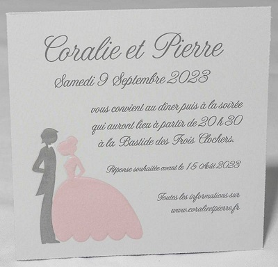 Cartes d'invitation (repas, lunch...)