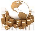 Frais de port pour les livraisons à l'international